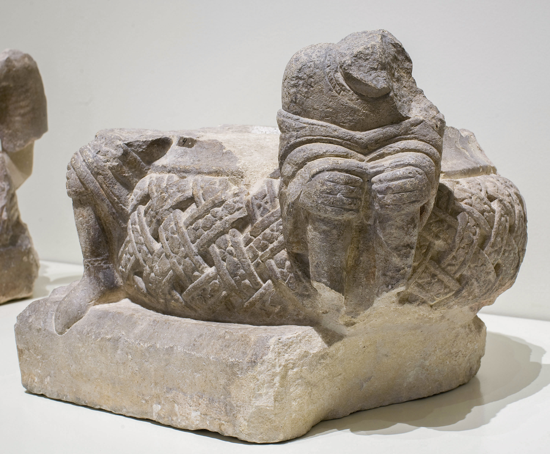 Anònim. Catalunya - Basis of the baldachin of Ripoll - Second third of 12th century [1]