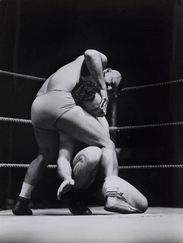 Oriol Maspons - Sense títol (Lluita lliure) - Cap a 1957
