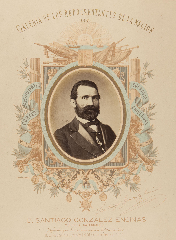 Leopoldo Rovira - D. Santiago González Encinas - 1869