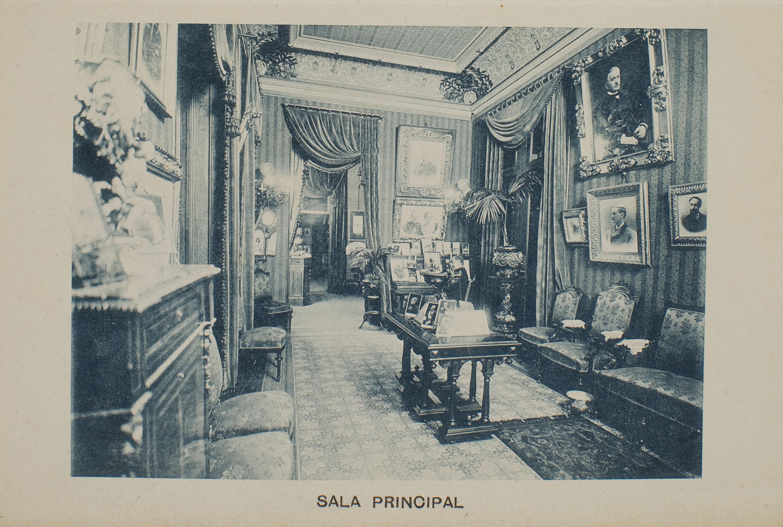 Napoleón. Establecimiento de daguerrotipo y fotografía. Barcelona - Napoleón photographic studio. Main room - 1895