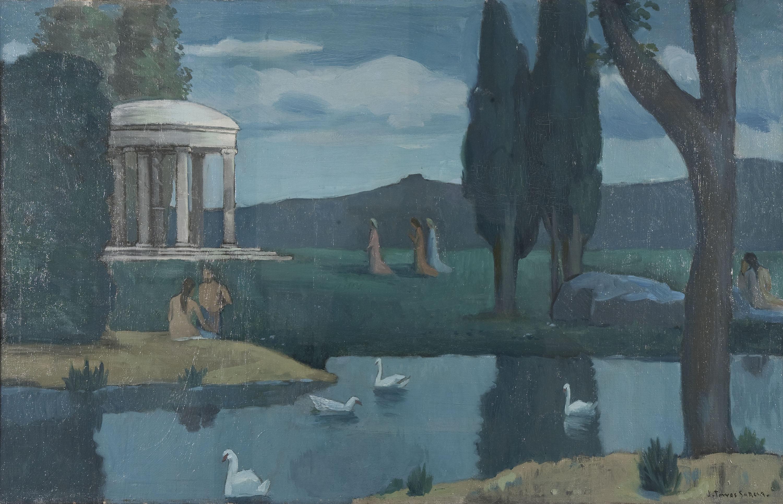 Joaquim Torres-García - Temple to the Nymphs - Circa 1901-1911