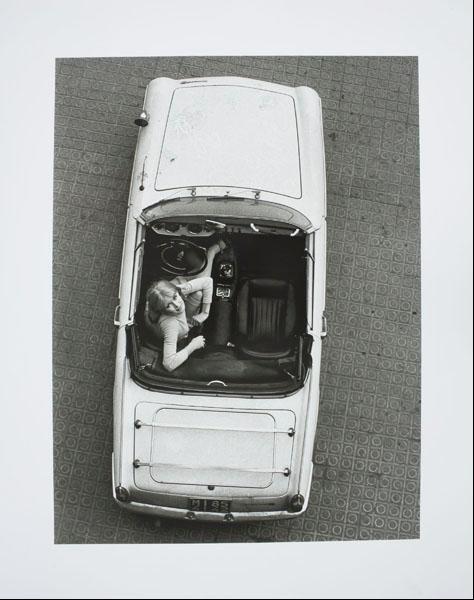 Oriol Maspons - Susan Holmsquit, portada per a la novel·la «Últimas tardes con Teresa» de Juan Marsé - 1966