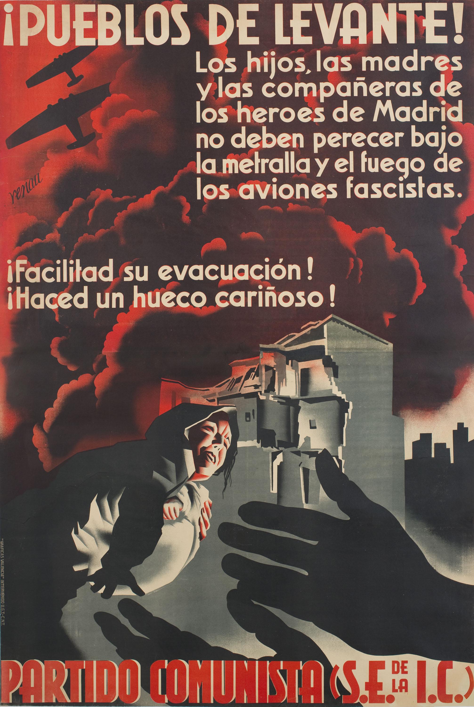 Josep Renau - ¡Pueblos de Levante! - 1936