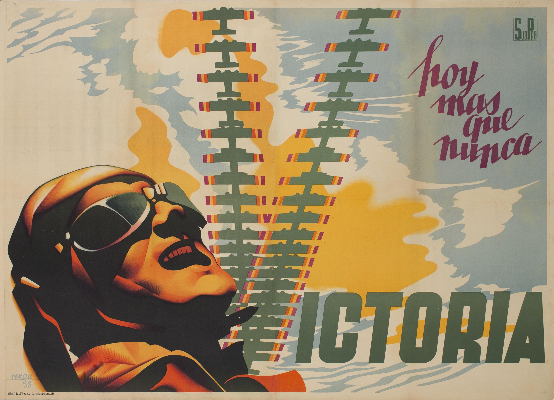 Josep Renau - Hoy mas que nunca, victoria - 1938