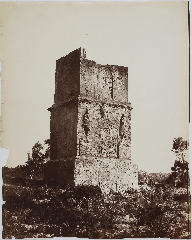 Charles Clifford - Tumba de los Escipiones (Tarragona) (Tomb of the Scipios) - 1860