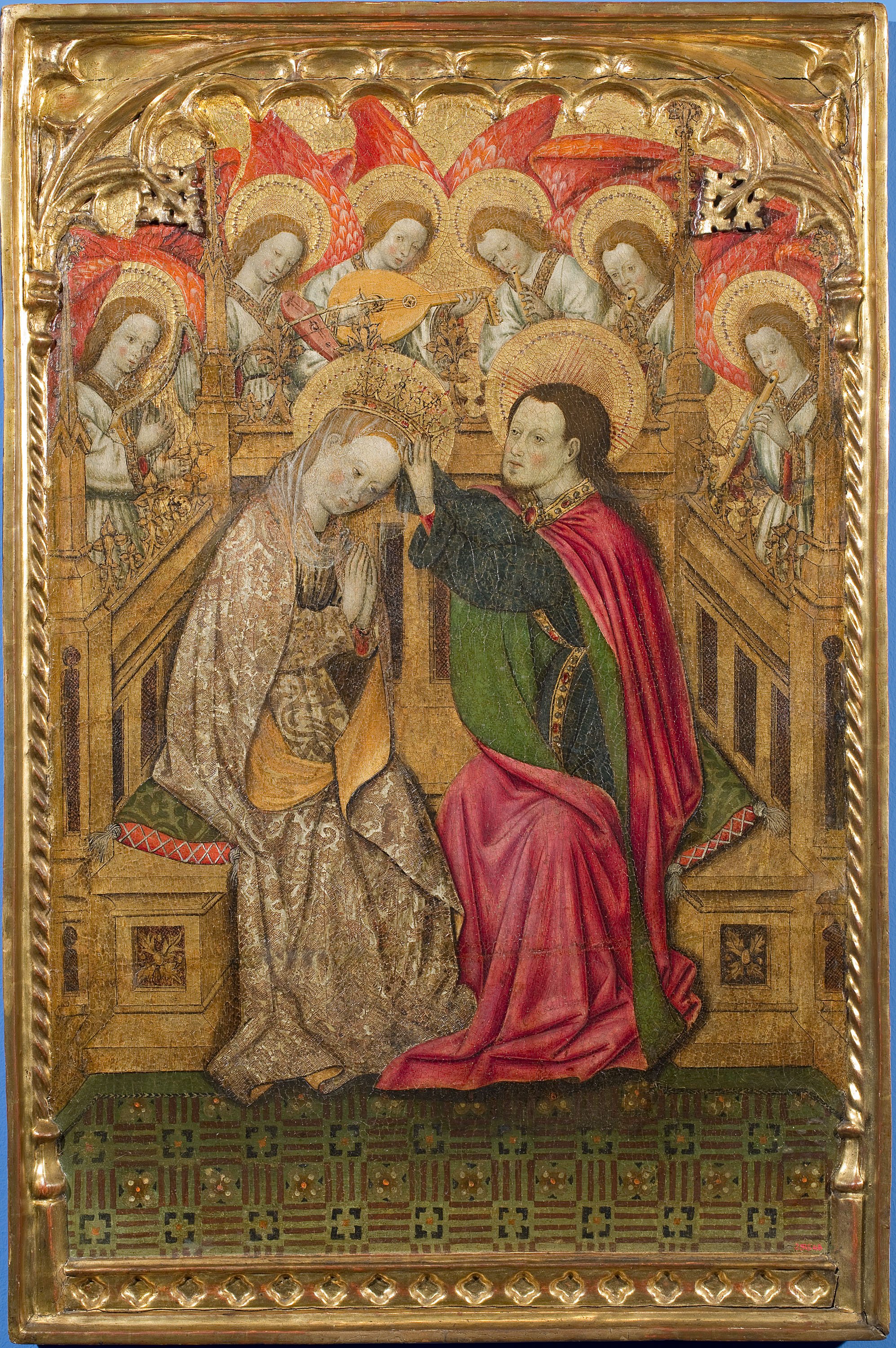 Bernat Martorell - Coronation of the Virgin - Circa 1445-1452