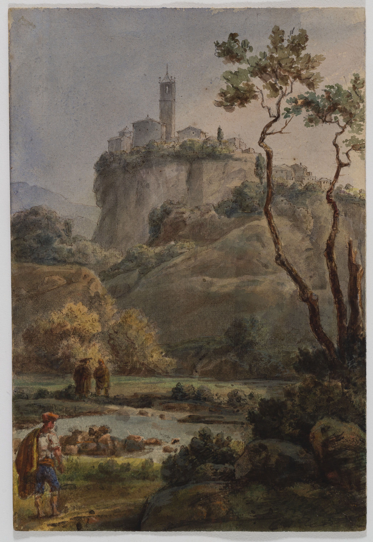 Adolphe Hedwige Alphonse Delamare - Castellfollit de la Roca - 6 d'agost de 1826