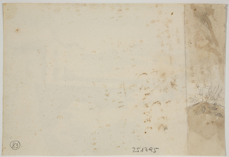 Adolphe Hedwige Alphonse Delamare - Ermita del Sant Crist del Calvari a Arenys de Mar - Cap a 1827 [1]