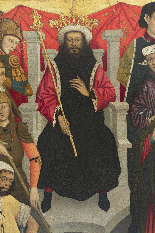 Lluís Dalmau - The Beheading of Saint Baudilus - circa 1448 [1]