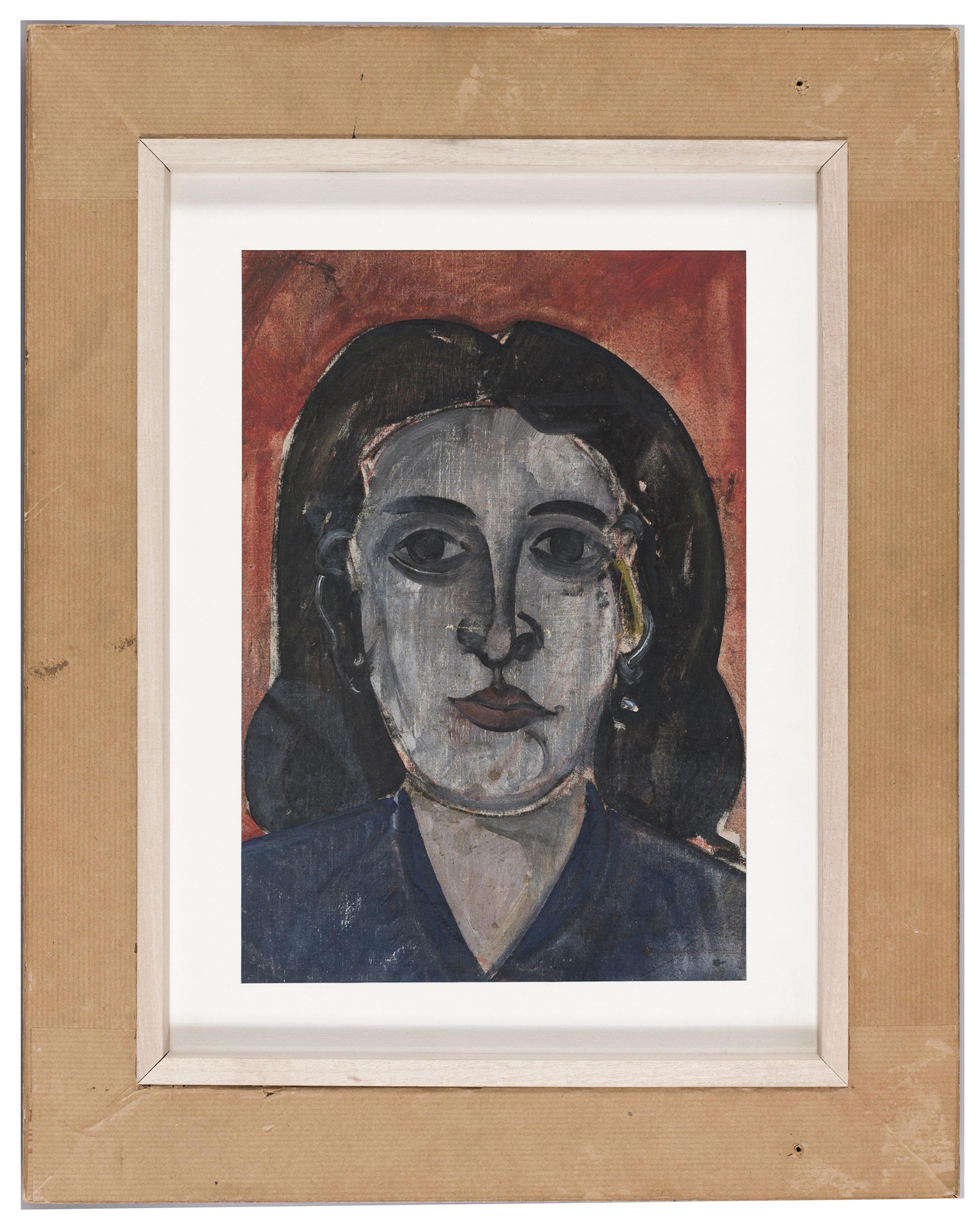Josep Guinovart - Crani (anvers) / Cap de dona (revers) - 1954 [1]