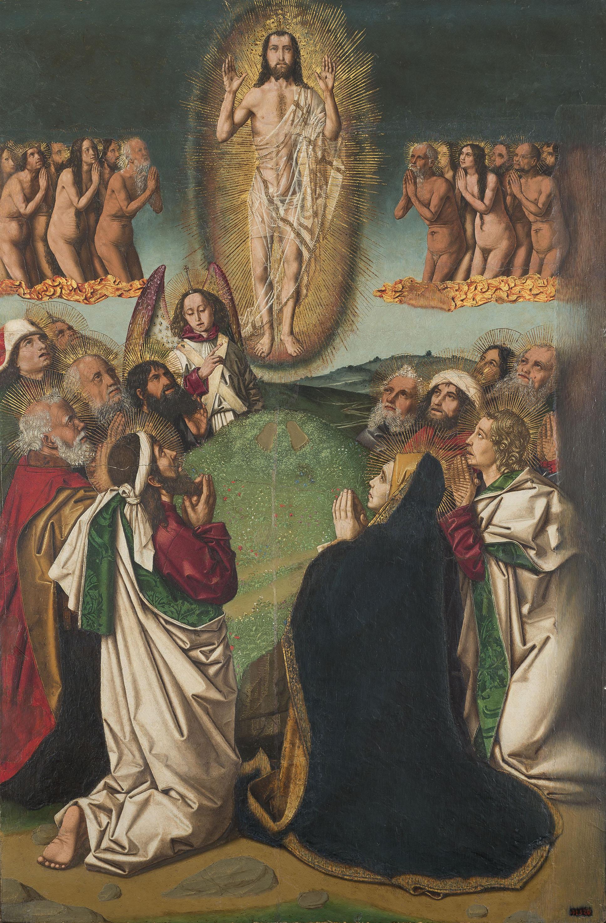 Bartolomé Bermejo - Ascension - Circa 1475