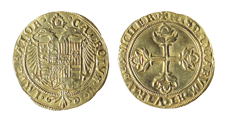 Carles I - Escut - 1535
