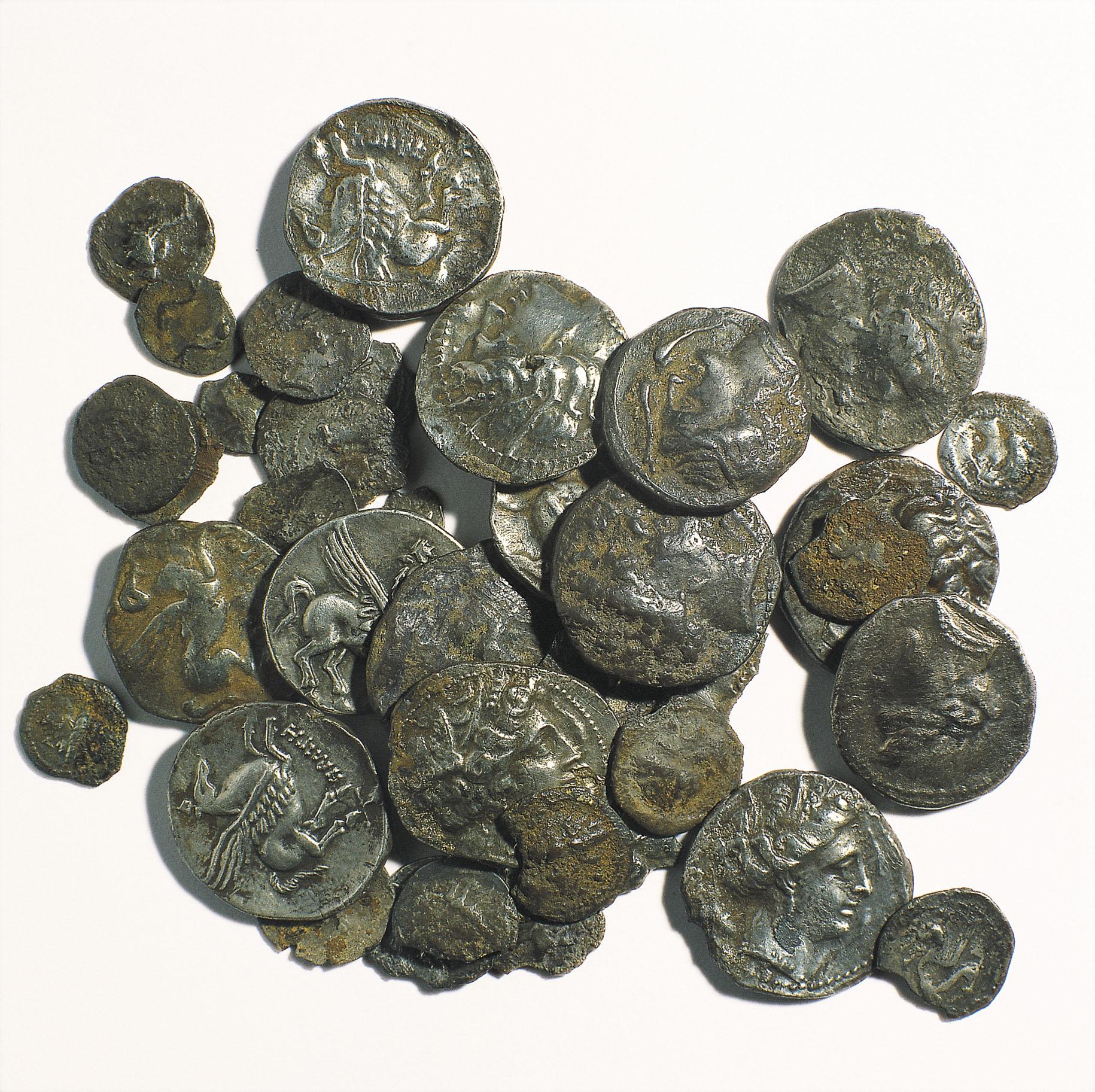 Diverses autoritats - Tresor de Puig Castellar - Finals del segle III aC