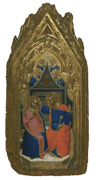 Giovanni da Bologna - Coronació de la Mare de Déu amb quatre àngels - 1380-1389