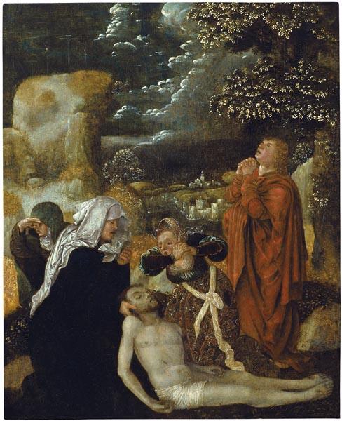 Ulrich Apt (el Vell) - La Pietat - Cap a 1510