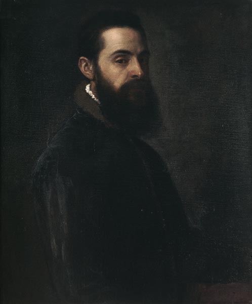 Tiziano Vecellio - Retrat d'Antonio Anselmi - Cap a 1550