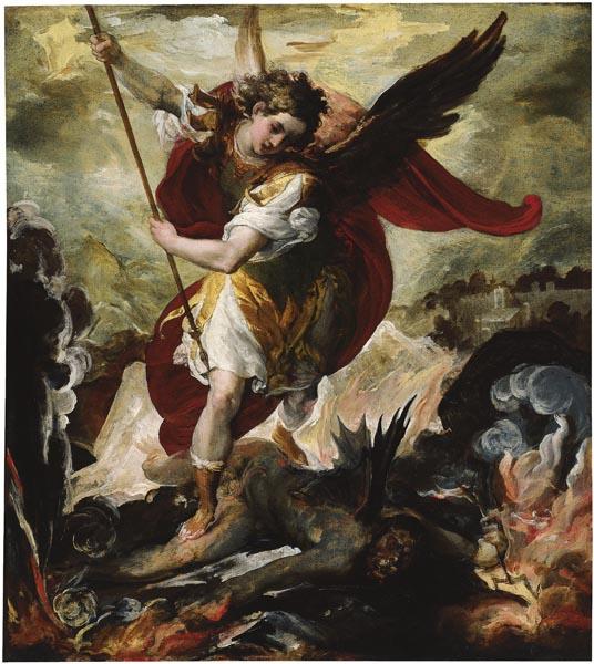 Francesco Maffei - Sant Miquel Arcàngel vencent Llucifer - Cap a 1656