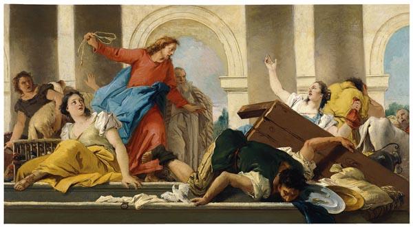 Giandomenico Tiepolo - Expulsió dels mercaders del Temple - 1750-1753