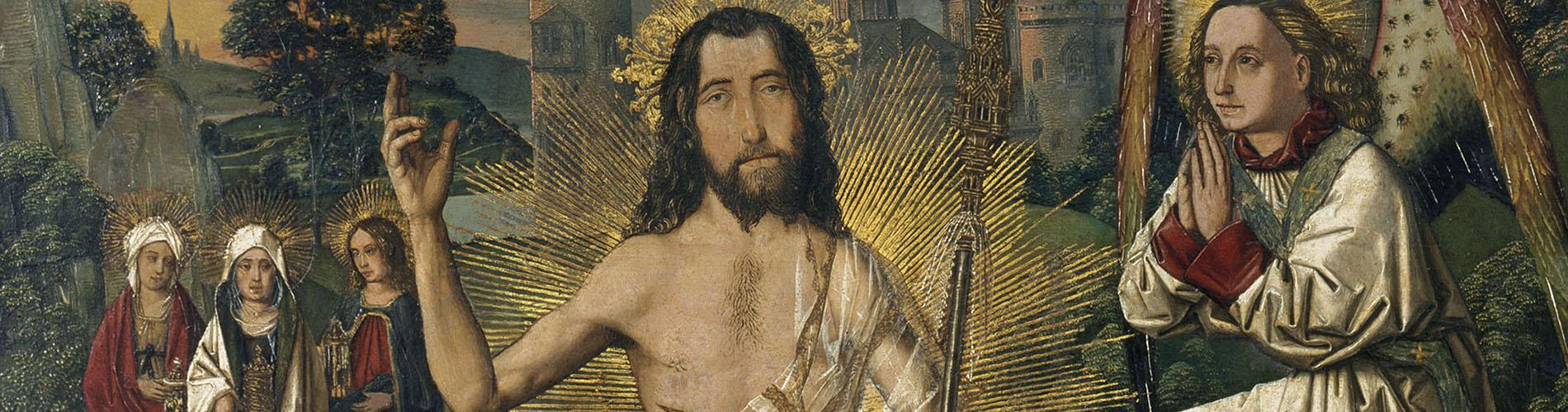 Bartolomé Bermejo, Resurrection, circa 1475