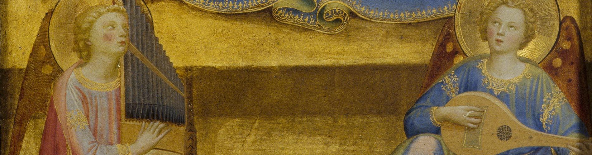 Fra Angelico,Virgen de la Humildad, 1433-1435