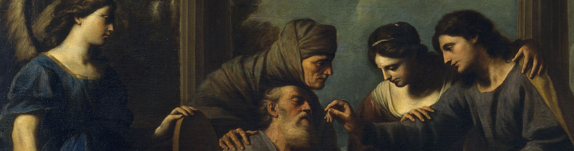 Andrea Vaccaro, The Healing of Tobit, 1667