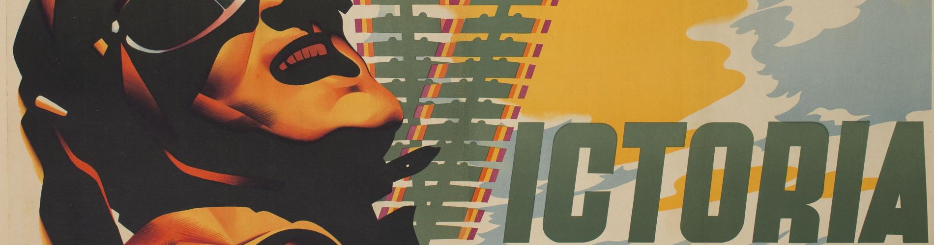 Josep Renau. Hoy mas que nunca, victoria, 1938. Col·lecció particular en dipòsit al museu, 2014. Museu Nacional d'Art de Catalunya © Fundació Josep Renau – València