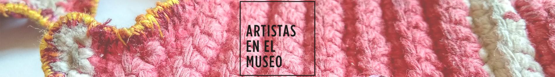 artistas en el museo