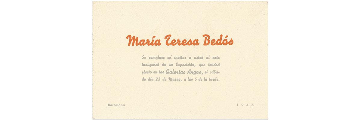 Maria Teresa Bedós García-Ciaño