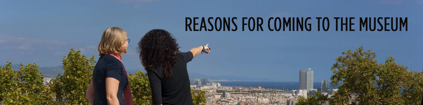 Reasons for coming to the museum