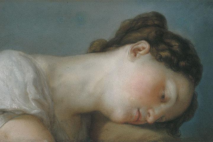 Vicent López Portaña, Woman's Head, circa 1826