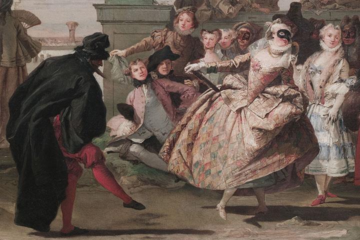 Giandomenico Tiepolo, El minuet, 1756