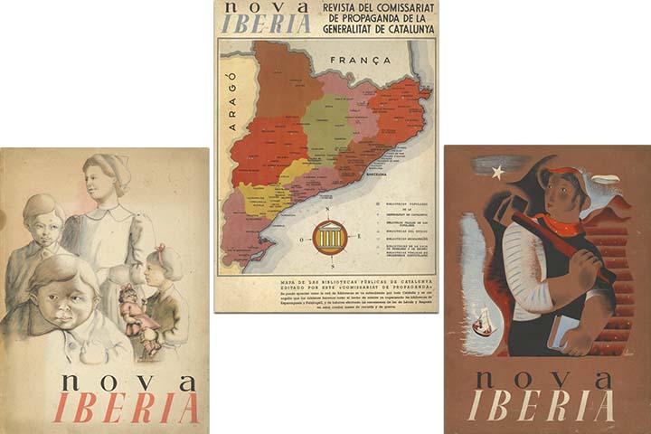 Nova Iberia: revista mensual il·lustrada. Barcelona: Comissariat de Propaganda de la Generalitat de Catalunya, 1937