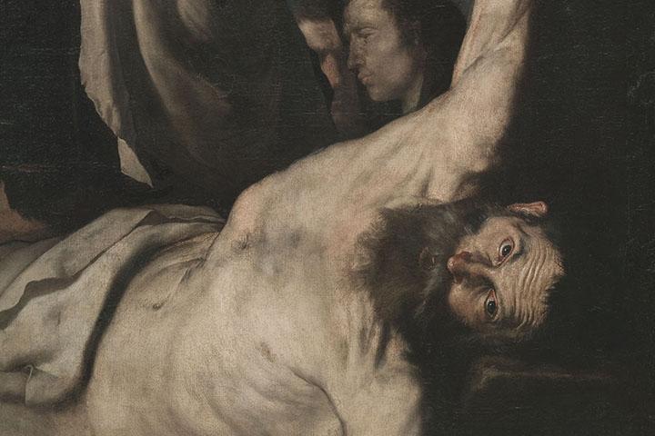 Josep de Ribera or Jusepe de Ribera, Martyrdom of Saint Bartholomew, 1644