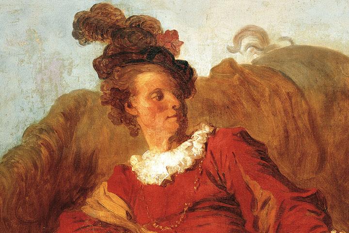 Jean-Honoré Fragonard, Retrat de Charles-Michel-Ange Challe (?), cap a 1769