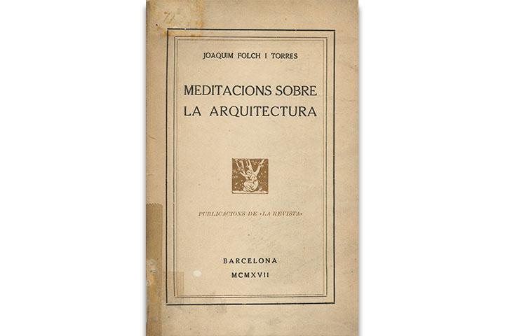 Meditacions sobre la arquitectura
