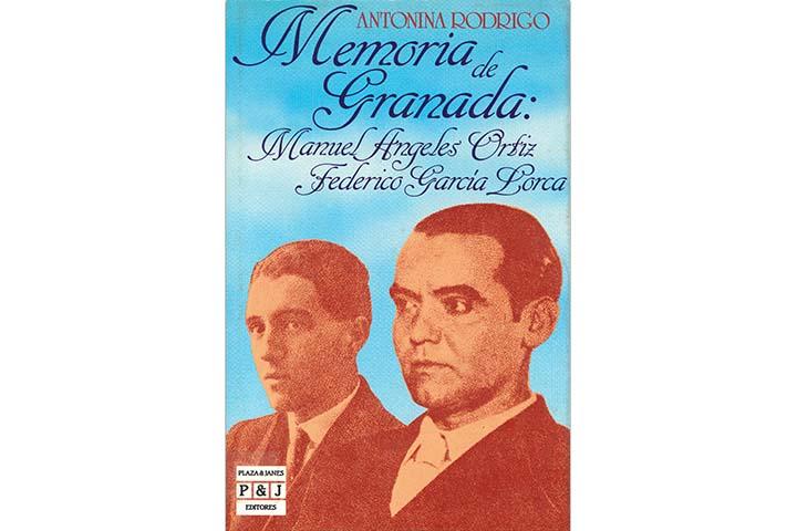 Memoria de Granada: Manuel Ángeles Ortiz, Federico García Lorca