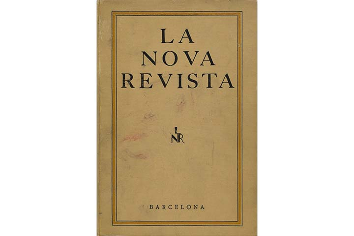 F. García Lorca: Exposició de dibuixos colorits (Gal. Dalmau)