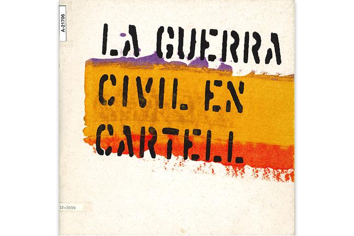 La Guerra civil en cartell