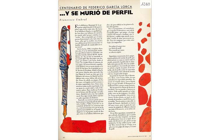Centenario de Federico García Lorca