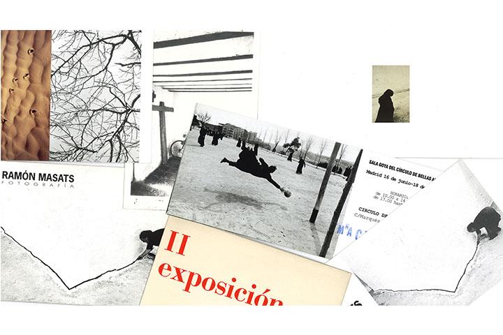 Catàlegs d'exposicions individuals de Ramon Masats