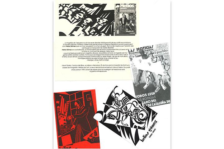 Catàlegs d'exposicions individuals d' Helios Gómez