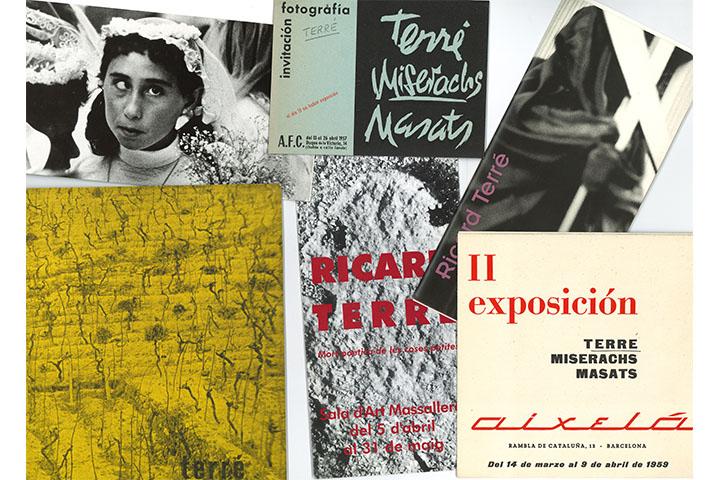 Catàlegs d'exposicions individuals de Ricard Terré Marcellés