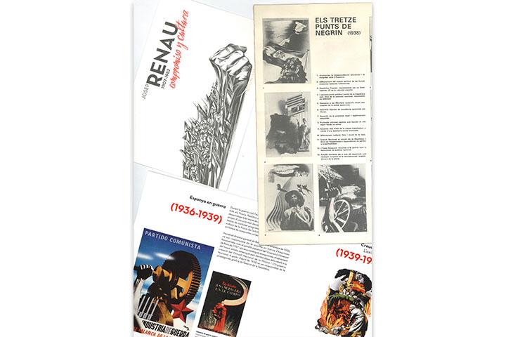 Catàlegs d'exposicions individuals de Josep Renau