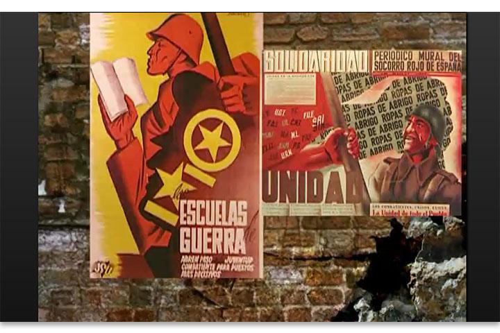 Carteles de la guerra: 1936-1939
