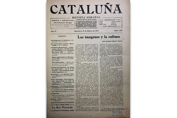 La Cataluña: revista semanal
