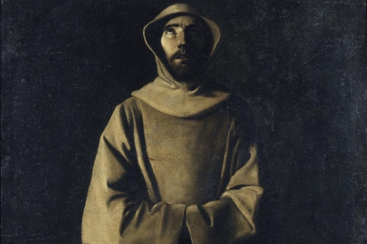 Saint Francis of Assisi according to Pope Nicholas V's Vision, Francisco de Zurbarán, cap a 1640
