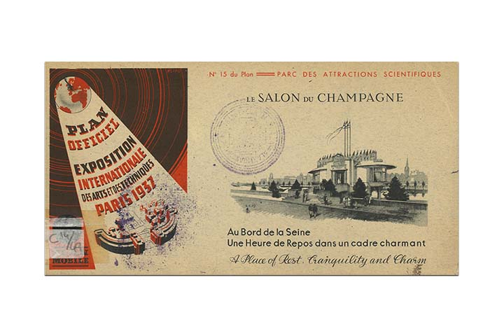 Exposition internationale des arts et des techniques, París: 1937: plan officiel, plan mobile. Paris: Eterna, 1937