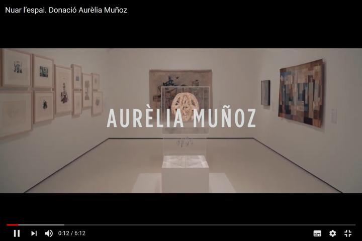 Exposició Nuar l'espai. Donació Aurèlia Muñoz