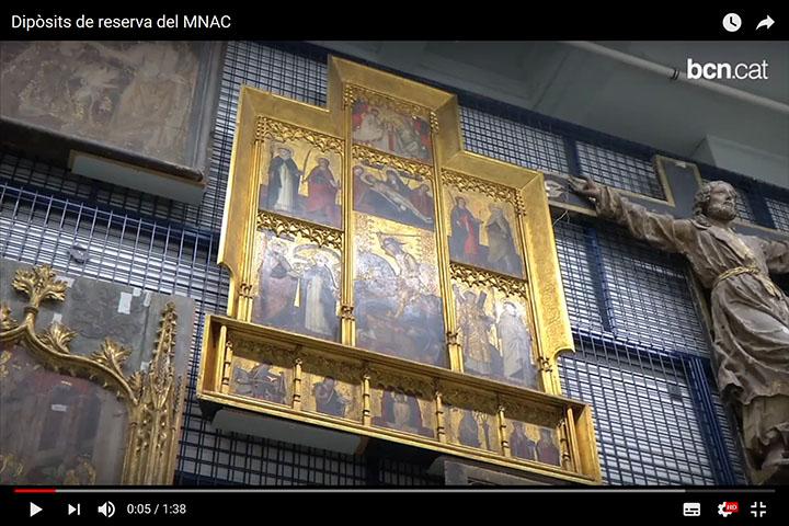vídeo de les reserves del museu de bcn.cat