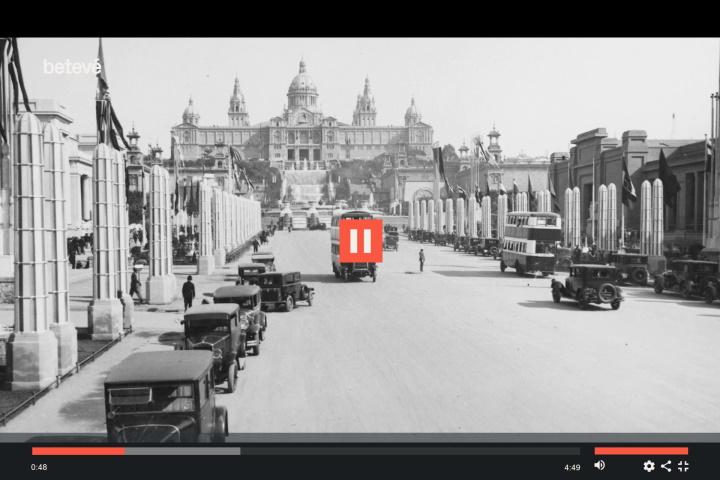 Història del Palau Nacional - Betevé